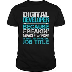 [Popular tshirt name meaning] Awesome Tee For Digital Developer  Coupon 5%  How to ? 1. Select color 2. Click the ADD TO CART button 3. Select your Preferred Size Quantity and Color 4. CHECKOUT! If you want more awesome tees you can use the SEARCH BOX and find your favorite !!  Tshirt Guys Lady Hodie  SHARE and Get Discount Today Order now before we SELL OUT  Camping tee for digital developer