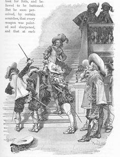 Musketeer book art