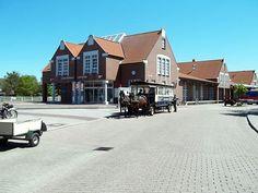 Der Inselbahnhof in der Ortschaft Langeoog