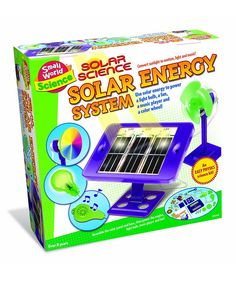 Loving this Solar Science Energy System Kit on #zulily! #zulilyfinds