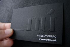 Креативная визитка графического дизайнера