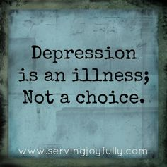 THANK YOU! You think I LIKE feeling this way?! If I could change it, I would! End the stigma attached to mental illness. If it was a choice, imagine how many doctors and therapists would be out of a job...