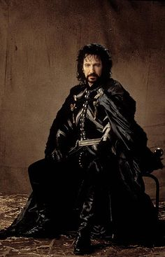 """The Sheriff of Nottingham from the film """"Robin Hood: Prince of Thieves"""" portrayed by Alan Rickman"""