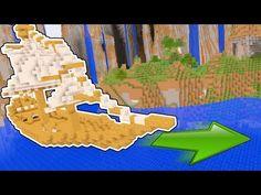 WORKING SUBMARINE IN MINECRAFT! Minecraft 1.8 Update Snapshot - YouTube