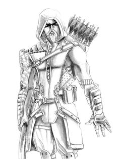 Green Arrow Coloring Pages 6415 Throughout For | Nívea | Pinterest ...