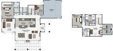 Durham 5 bedroom 2 storey house plan Landmark Homes builders NZ