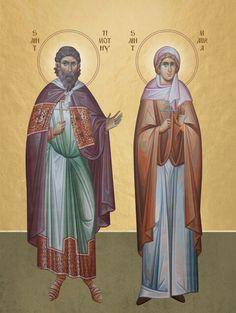 Timothy- Martyrs at Atinoe - March 3 Saints, November, Movie Posters, Image, Fresco, November Born, Film Poster, Popcorn Posters, Film Posters