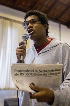"""""""O Pré sal é da educação e do povo brasileiro"""""""