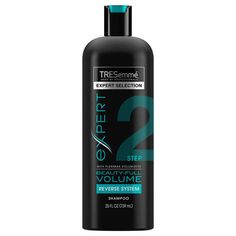"""""""I have the finest hair on the planet, so I was very nervous to try these,"""" said Abramcyk of the system in which you condition first, then shampoo. """"But after weeks of following this switcheroo process, my hair felt bouncier than ever before. My volume held up longer too, so I could go two to three days between washes."""" ($4.99 each; tresemme.com)"""