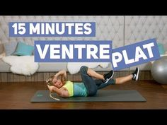 Objectif VENTRE PLAT (Training 15 minutes) - YouTube Redwood Forest Wedding, Tonifier Son Corps, Donkey Kicks, Squat Workout, Body Training, Leg Lifts, Hiit, Body Weight, Squats