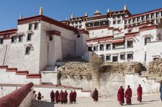 Was Tibet Always Part of China?: Ganden Monastery For at least 1500 years, the nation of Tibet has had a complex relationship with its large and powerful neighbor to the east, China. The political history of Tibet and China reveals that the relationship has not always been as one-sided as it now appears.