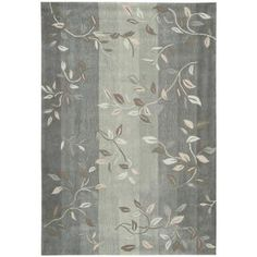 @Overstock - Contemporary design elements and hand-carved accents add visual and textural appeal to this polyester rug. This area rug features meticulously dyed yarn in shades of grey, ivory and brown.http://www.overstock.com/Home-Garden/Hand-tufted-Cosmopolitan-Aqua-Grey-Stone-Rug-73-x-93/5659867/product.html?CID=214117 $289.99
