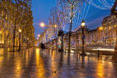 Top 10 Christmas Lights Displays: Christmas on the Champs-Élysées, Paris, France. Photo by Trey Ratcliff