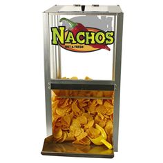 "Paragon 15"" Nachos Popcorn Peanuts Warmer Merchandiser with Scoop UL NSF 2190210"