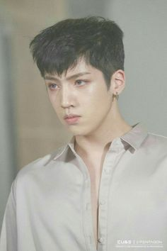 Image shared by Find images and videos about pentagon, wooseok and jung wooseok on We Heart It - the app to get lost in what you love. Jimin Jungkook, Namjoon, K Pop, Pentagon Wooseok, How To Speak Korean, E Dawn, Jung Woo, Jiyong, Cube Entertainment