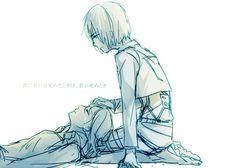 Armin & Annie. Attack on titan. 進撃の巨人. Shingeki no Kyojin. Атака титанов. #SNK. #AOT