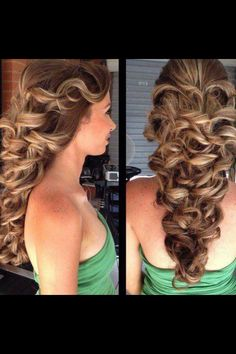PERFECT wedding hair! Princess Belle :))