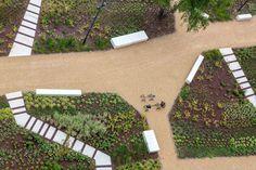 OMGEVING_UZ-Jette_059 «  Landscape Architecture Works | Landezine #landscapearchitecturepark