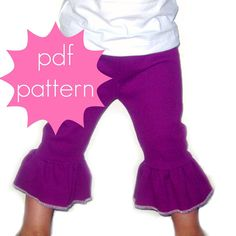 fairytale frocks and lollipops::jocole patterns, everyday knit ruffle pants, e-pattern, downloadabe pattern,pdf pattern