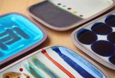 タタラ 長方皿 小 / やちむん 一翠窯(いっすいがま) | キッチン | Abby Life エスプレッソのある生活 | エシカル, フェアトレード, オーガニック, デザインアイテム通販サイト