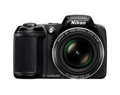 Amazon.com : Nikon Coolpix L340 20.2 MP Digital Camera with 28x Optical Zoom and 3.0-Inch LCD (Black) : Camera & Photo