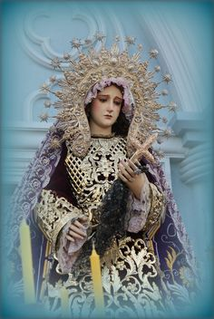 Blessed Virgin Mary. Holy Mother of God. Most Pure. Queen of God's Children. Our Lady of Sorrows.