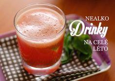 Léto je doba, která si žádá mnoho slunce, mnoho opečených vuřtů s hořčicí a mnoho (převážně) nealkoholických tekutin, přičemž čím víc jich připravíte ve své vlastní kuchyni, tím lépe pro vás, vaše zdraví, vaši peněženku... Cocktails, Drinks, Cantaloupe, Smoothies, Detox, Fruit, Tableware, Fitness, Desserts