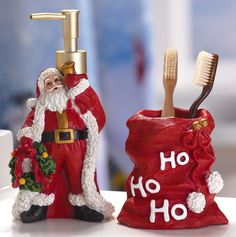 christmas bathroom decor - Buscar con Google