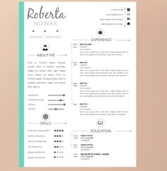 Black Friday SPECIAL Resume Template with Cover by Pappermint