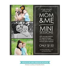 Items similar to Mother's Day Mini Session template - PSD Newsletter template - on Etsy Photography Flyer, Photography Pricing, Photography Marketing, Photography Business, Lifestyle Photography, Family Photography, Photography Ideas, Facebook Timeline Photos, Mini Sessions