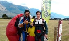 skydiving in NewZealand