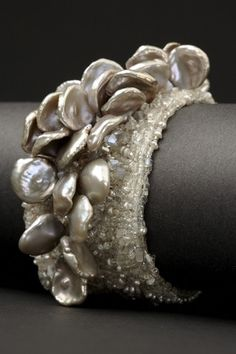 Angel Wings Couture Cuff | Andrea Gutierrez Jewelry