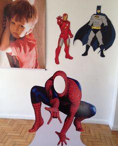 Placas de super heroi @petitlori