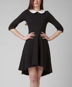 Black Bonita Dress #zulily #zulilyfinds