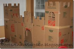 Everyone loves a fort - and I love anything where there are no batteries required!