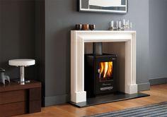 The Clandon Bolection Frame - Contemporary Fireplace | Chesney's Contemporary Fireplace Collection