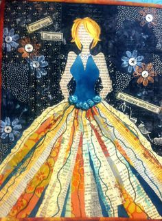mixed media art ideas | Adventures in Fiber: Mixed Media Fashion