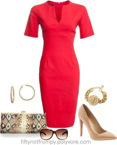 """""""Year of the Dress"""" by fiftynotfrumpy ❤ liked on Polyvore"""