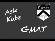 Ask Kate GMAT Score report, 680 42/41, Top 15?  https://youtu.be/gfjmb_mDgk8 #GMATprep #MBAadvice #GMATscore