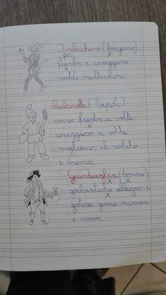 Classe Terza- Febbraio- Italiano- Carnevale - Maestra Anita Bullet Journal, Coding, Teaching, Education, School, Dessert, Play, Geography, Art