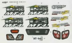 Thunder Tiger PD9044 Decal Set MT4-A by Thunder tiger. $8.99