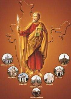 Image result for st. thomas the apostle kerala