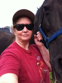 Me and Tequila Rose What a stunning mare she is