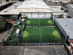 Soccer is a growing and active movement in the U. Urban Soccer Park wants to help your community with their services for street soccer construction. Football Pitch, Football Field, Soccer Coaching, Soccer Training, Futsal Court, Backyard Sports, Dream Gym, Soccer Academy, Indoor Arena