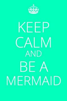 This is only awesome because one of my coworkers calls me her mermaid <3 :)