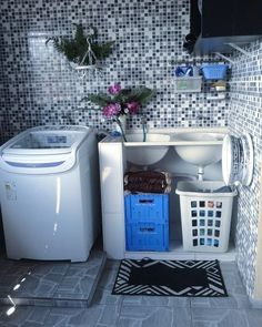30 Laundry Room Organization Ideas to Make Your Life Easier - Good Housekeeping Mantra Laundry Room Organization, Laundry Room Design, Home Room Design, Interior Design Living Room, Living Room Designs, House Design, Organization Ideas, Outdoor Laundry Rooms, Indian Home Interior