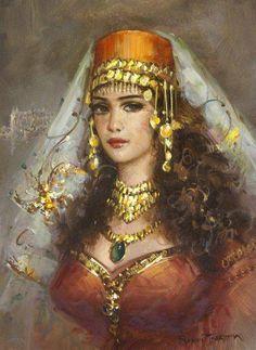 Современная турецкая живопись. Ramzi Taskiran.