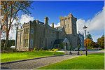 Kilronan Castle, Ireland  One of Ireland's most luxurious Castle Hotels in Roscommon Ireland. This it is majestically set on the shores of Lough Meelagh, surrounded by over forty acres of breathtaking Irish scenery.