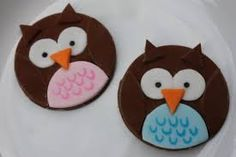 Image result for owl cupcakes