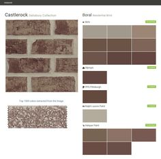 Sycamore ridge terre haute collection residential brick boral behr ppg paints sherwin - Breathable exterior masonry paint collection ...